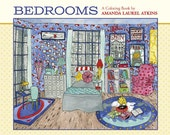 Bedrooms signed coloring book