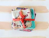 Vintage Floral Handkerchiefs, bundle of 32