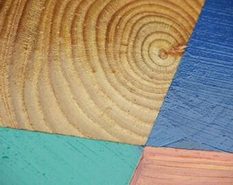 Yeezus Tour Seafoam I Feel Like Pablo LA Pop Up Shop Short Sleeve / Yeezy / I Feel Like Pablo / Blue Art / Paintings on Wood /
