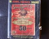 Vintage 1902 Sears Roebuck Catalog