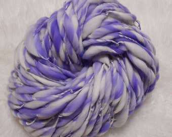 Grape Taffy Pull Slimmer Thick n Thin Merin 110 yards 6.2 oz  Super Bulky