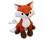 Fifi Fox INSTANT DOWNLOAD Sewing Pattern PDF
