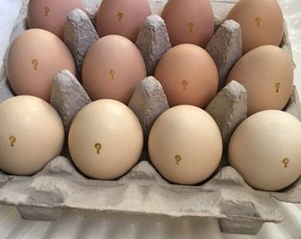 Ombre Gender Reveal Eggs