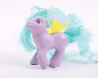 My Little Pony Highflyer Purple Pony With Dragonfly Symbol and Wings ~ Pink Room ~ 161123A