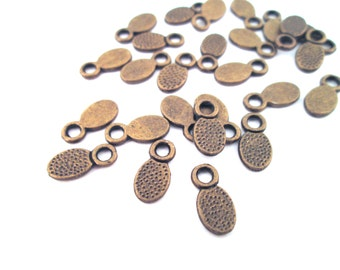 Brass plated bails 11x5mm, pick your amount