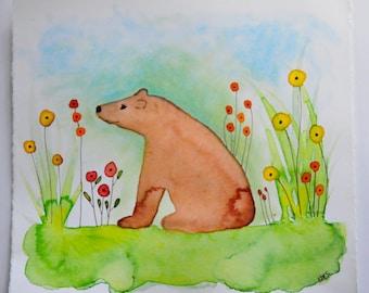 Bear Art Original