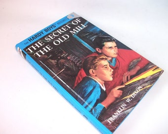 Hardy Boys Hollow Book Safe Secret of the Old Mill Hollowed out Book Secret Keepsake box