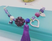 Mulberry Ball  Necklace