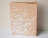 Flower Note Cards, Blank Note Card Set, Vine Note Cards, Handmade Cards, All Occasion Cards, Greeting Cards, Thank You Cards, Note Cards