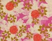 Cotton + Steel Trinket Canvas - daisy fields pink - fat quarter