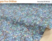 Japanese Fabric Spacer Knit - digital print floral - C - 50cm