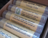 "12 ""Orange Cutie"" (Easy Going Vegan) Lip Balms (comes w/display box) 0.15 oz tubes"