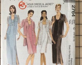 McCall 2764  - Womens Dress & Shirt Combo - Vintage Sewing Pattern