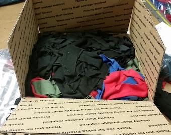 SALE! Nomex, CarbonX and Kevlar fabric scraps, wick filler