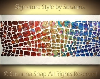Painting ORIGINAL Large Abstract Painting Large Painting Abstract Painting Palette knife Textured Acrylic Painting Modern Art made2order