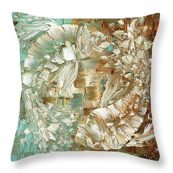 koi fish decorative throw pillows covers sets by ModernHouseArt