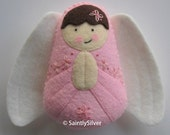 Girl Guardian Angel...Felt Softie
