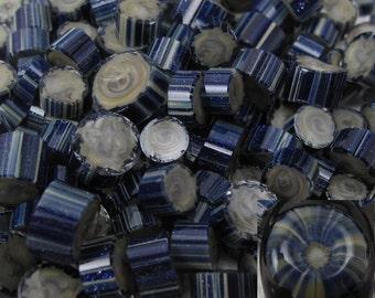 Handmade Lampwork Glass Murrini Large 25 Chips by Jason Powers SRA Powers Art Studio (MBA1)