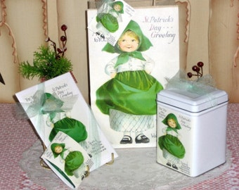 Irish Little Lady Gift Bag Set