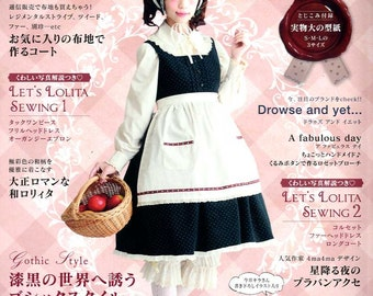 Gothic Lolita Fashion Book Vol 8 - Japanese Craft Book