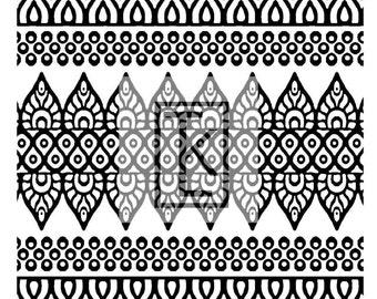 Textile of India #2 Silk Screen (E14)