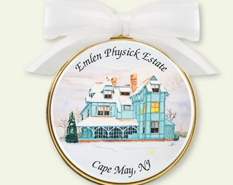 Emlen Physick House Holiday Ornament