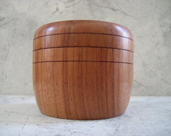 Salt Box (African Rosewood)