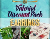 20% OFF Discount Tutorial Pack: Earrings (Wire-Wrapped Instructions)
