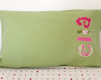 Personalized Pillowcase - Perfect for Sleepovers, Camping, Party Favors - by Green Apple Boutique