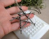 Custom Order for mugbone2-- The Oracle- Twig Pendant