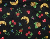 MARY ENGELEBREIT 2000 moon quilting cotton hard to find and OOP