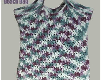 Blossom Beach Bag ~ Crochet Pattern