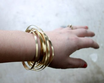 Brass Orbit Bracelet