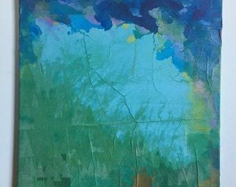 Abstract painting: risingdale