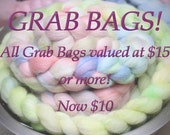 Grab Bags Wool Fiber for Spinning and Felting