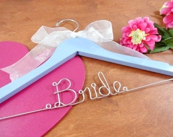 Bride Hangers Bride Coat Hangers Bridal Hangers Wedding Dress Hangers Bridal Accessories Bridal Photo Props