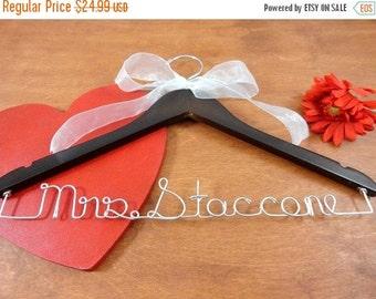 20% OFF SALE Custom Bridal Hangers Personalized Hangers Wedding Dress Hangers Bridal Accessories Wedding Coat Hangers