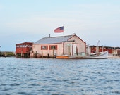 Smith Island Maryland Fishing Boating House on the Chesapeake Bay Photograph