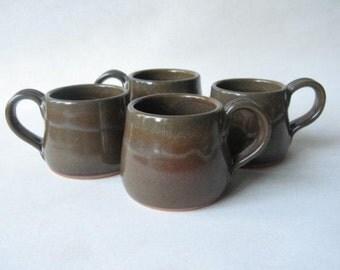 Espresso Cups, Demitasse, Set of 4