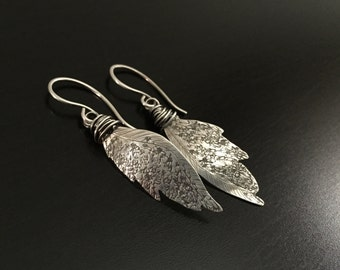 Cast Away Inspired Bettina's Wings in Sterling