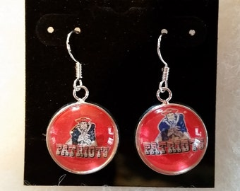patriots earrings new patriots earrings 1673