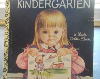 Little Golden Book We Like Kindergarten 1983