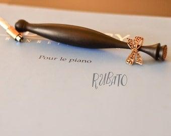 French Bow - Ebony Oblique Pen - French Bow