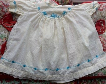 Antique Baby Gown 6/9 Months