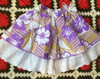 Floral Skirt Girls 4/5