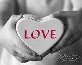 valentines print, valentines gift, wedding gift, Typography print, motivational print, black white art. Love print, love art, valentines art