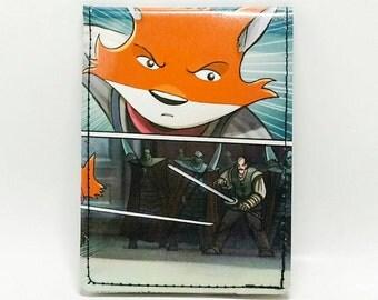 Sewn Comic Book Wallet - Manga - Amulet