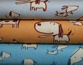 Fat Quarter Bundle:  Boys Will Be Boys by David Walker for Free Spirit Fabrics  (3 fqs)