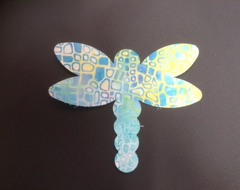 Dragonfly & Butterfly Fusible appliqué