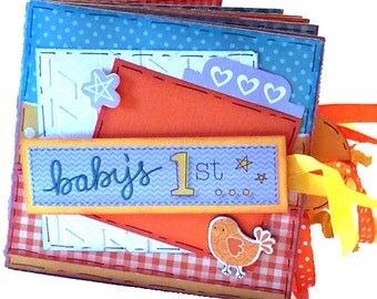 Baby's 1st Scrapbook - Baby's First Year Paper Bag Album